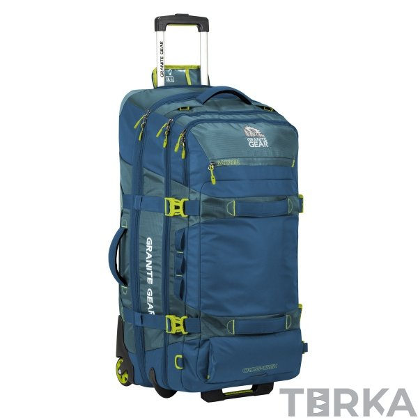 8fc691ae97fe Сумка-рюкзак на колесах Granite Gear Cross Wheeled Trek 131 Bleumine/Blue  Frost/Neolime 924428